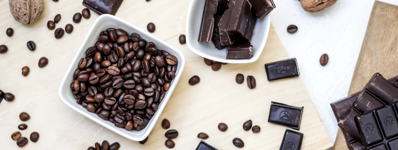 Coffee beans choc-1