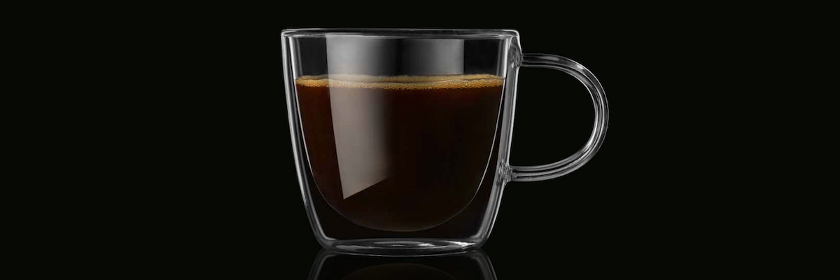 Fresh filtered coffee